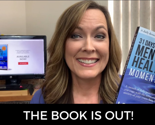 My book 31 Days of Mental Health Moments is out!