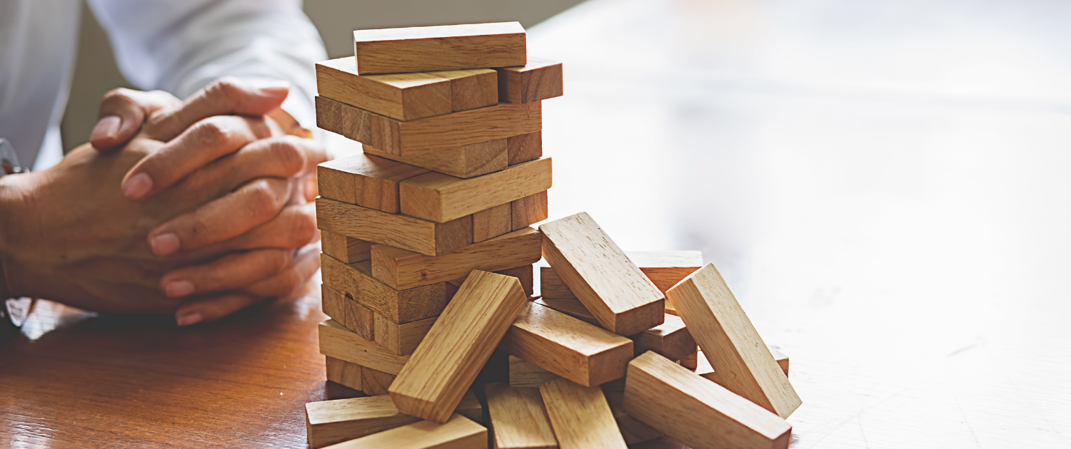2020 felt like a shaky stack of Jenga blocks